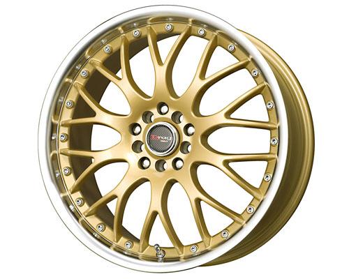 Drag DR-19 17X7.5  5x100/5x114.3  45mm   Gold - DT-47199