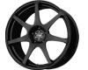 Image of DRAG D48 Wheels 17X9 4x114.3 17mm Flat Black