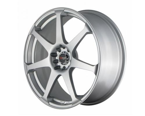 DRAG DR-48 Wheels 19X9.5 5x114.3 40mm Silver - DT-55960