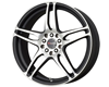 Image of DRAG DR 50 Wheels 17X7 4x1004x114.3 40mm Flat Black Machined Face