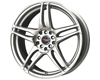 Image of DRAG DR 50 Wheels 15X6.5 4x1004x114.3 40mm Silver Machined Face
