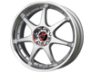 Image of Drag DR-51 18X7 5x1005x114.3 40mm Silver Machined Lip