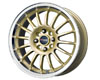 Image of Drag DR-41 15X7 4x100 10mm Gold Machined Lip