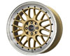 Image of Drag DR-44 15X7 4x1004x114.3 40mm Gold Machined Lip