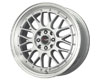 Image of Drag DR-44 15X7 4x1004x114.3 40mm Silver Machined Lip