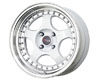 Image of Drag DR-46 15X7 4x100 10mm White Machined Lip