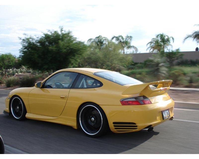 Precision Porsche Turbo Rear Bumper Porsche 996 C2/C4 99-04