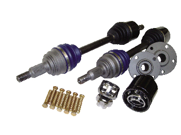 Driveshaft Shop Level 5.9 Axle and Hub Kit 1000HP Acura RSX Type S 02-06 - KA56