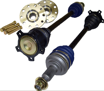 Driveshaft Shop Level 5.9 Axle and Hub Kit 1000HP Honda S2000 00-06 - HS35