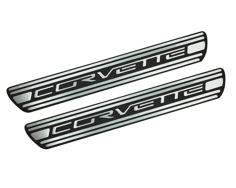 Defenderworx Door Sills - Two Tone Chevrolet ?Corvette C6 05-13 - 900610