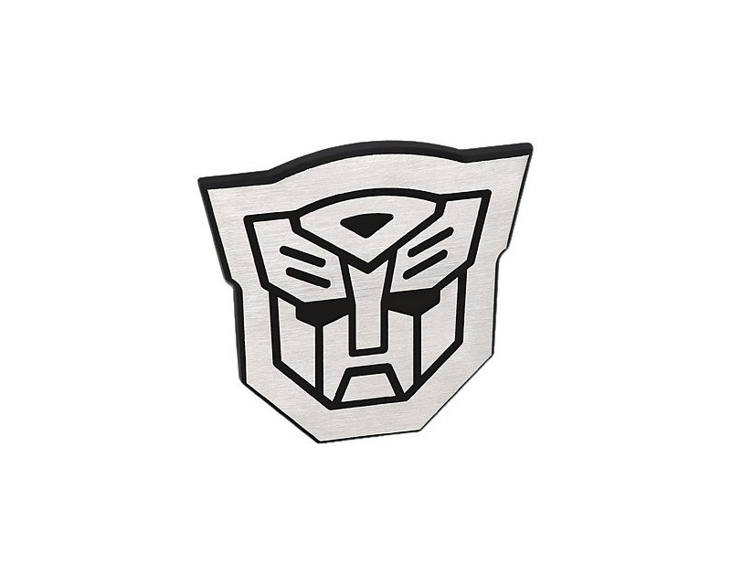 Defenderworx Autobot outline emblem Two Tone Brushed finish each - 901084