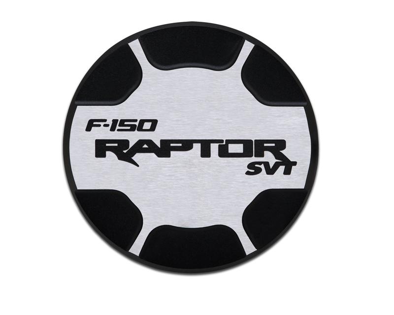 Defenderworx Fuel Door Non Locking-Two Tone Brushed Ford Raptor 09-14 - 901099