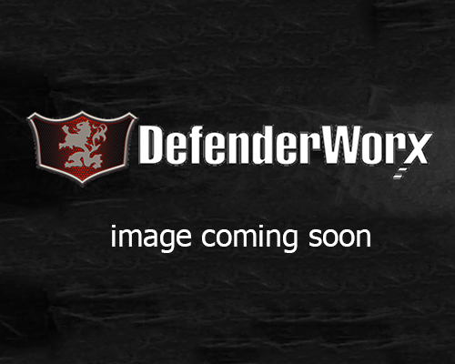 Defenderworx License Plate Frame-Black Ford F-250 Super Duty 00-14 - 901344