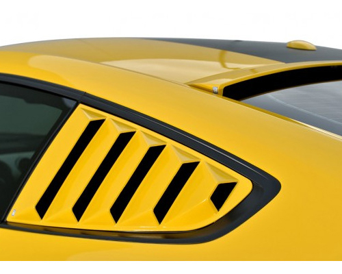 Defenderworx Rear Quarter Window Louvers Ford Mustang 2015 - 901413