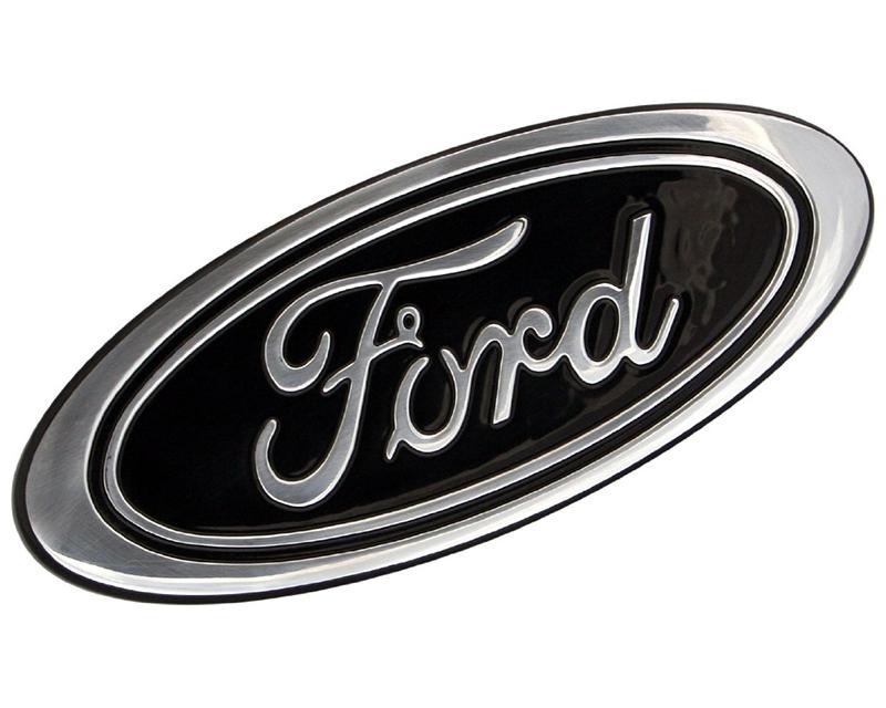 Defenderworx Billet Tailgate Emblem Black Oval 5-Inch Ford F-150 2015 - 901464