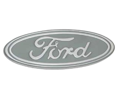 Defenderworx Billet Tailgate Emblem Silver Oval 5-Inch Ford F-150 2015 - 901465