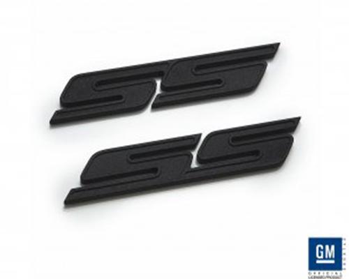 Defenderworx SS Badge Black Chevrolet Camaro 10-14 - CB-1002