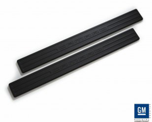 Defenderworx Door Sills - Black Chevrolet Camaro 10-14 - CB-1013