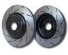 EBC Brakes Ultimax Slotted Sport Rear Rotor Nissan 350Z with Brembo 02-09