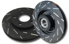 EBC Brakes Ultimax Slotted Sport Rear Rotor Mercedes-Benz ML55 AMG 00-05