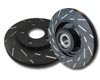 EBC Brakes Ultimax Slotted Sport Rear Rotor BMW 318 E36 92-96