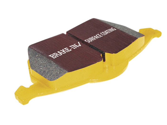 EBC Brakes Yellowstuff 4000 High Friction Front Brake Pads 11.8-Inch Mercedes-Benz C320 3.2 05-07