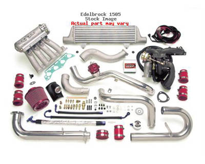Edelbrock Performer X Turbo Kit Acura Integra 94-99