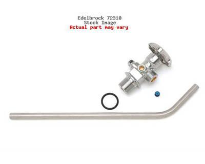 Edelbrock Nitrous Bottle Valve With Siphon Tube 10 lbs. - 72310