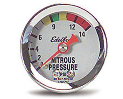 Edelbrock 1 1/2 in 0 to 1400 PSI Mechanical 50 Nitrous - 73800
