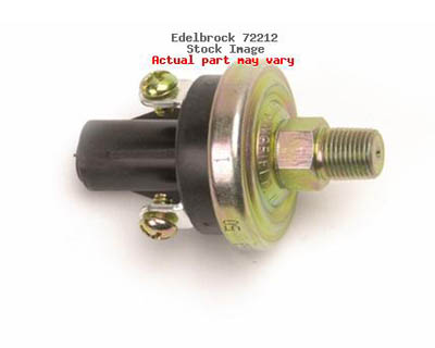 Edelbrock 15 PSI Nitrous Fuel Pressure Safety Switch - 72212
