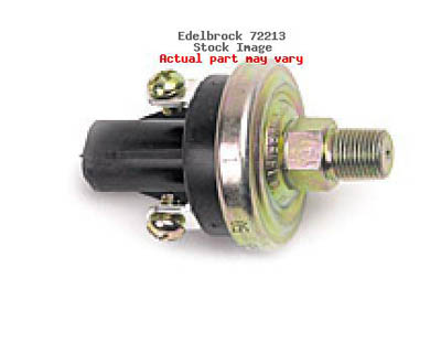 Edelbrock 30 PSI Nitrous Fuel Pressure Safety Switch