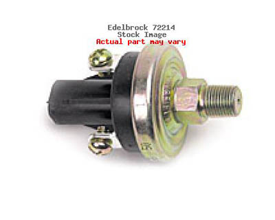 Edelbrock Fuel Pressure Safety Switches