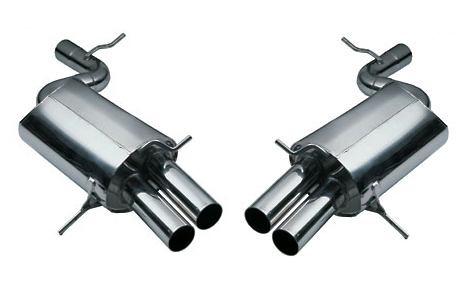 Eisenmann Stainless Axleback Exhaust 4x76mm Round Tips Audi A4 2.0 TDI 07-08 - A1223.00764
