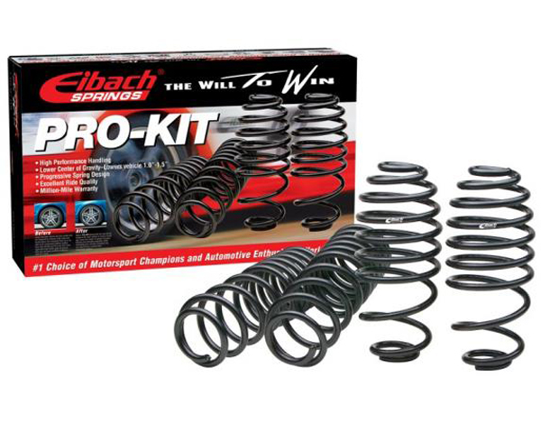 Eibach Pro-Kit Lowering Springs Toyota Yaris ALL 07-11