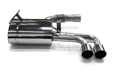 Eisenmann Stainless Axleback Exhaust 2x76mm Center Tips Mini Cooper S R53 04-06 - B5402.00760