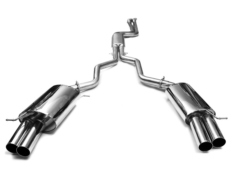 Eisenmann Stainless Catback Exhaust 4x76mm Round Tips BMW Z4 sDrive 35i/35is 10-13 - B5270.00764