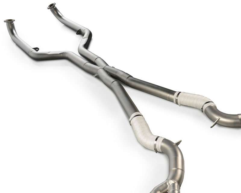 Eisenmann Stainless Center Pipes BMW M6 4.4L Bi-Turbo 13-19 - B5431.00000 + B5431.00001