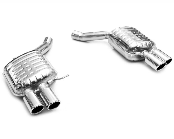 Eisenmann Stainless Axleback Exhaust 4x90mm Round Tips BMW 650i F12/13 12-15 - B5424.00904
