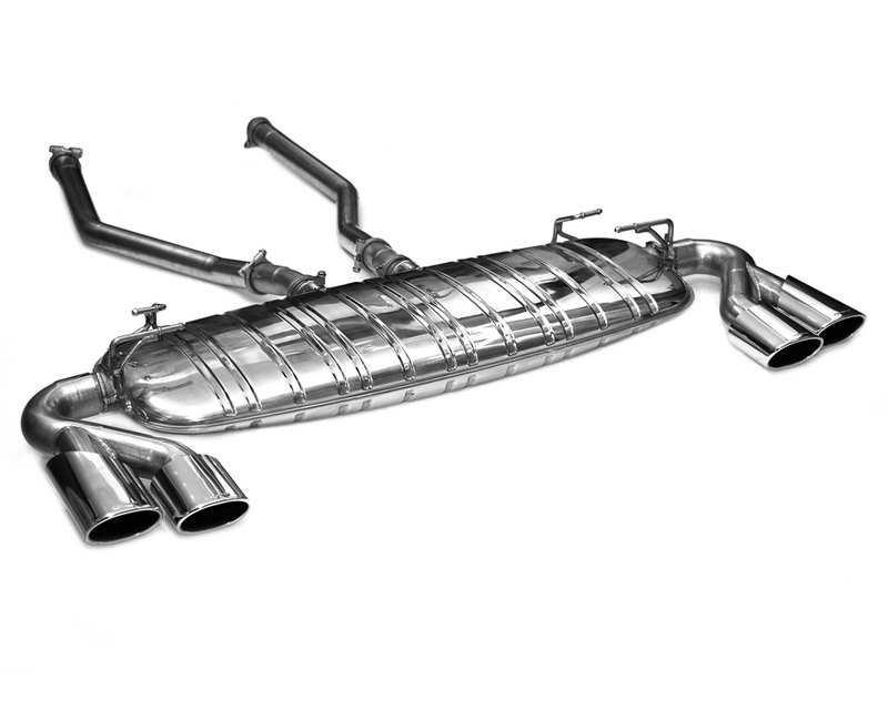 Eisenmann Stainless Axleback Exhaust 4x120x77mm Oval Tips Land Rover Range Rover Sport 4.2L 06-09 - R1000.01204
