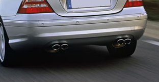Eisenmann Stainless Axleback Exhaust 4x90x70mm Oval Tips Audi TT Quattro 3.2L 07-13 - A1224.00974