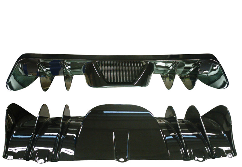 Elite Carbon Fiber Rear Fins Ferrari F430 04-09