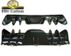 Image of Elite Carbon Fiber Rear Diffuser w Fins Ferrari F430 04-09