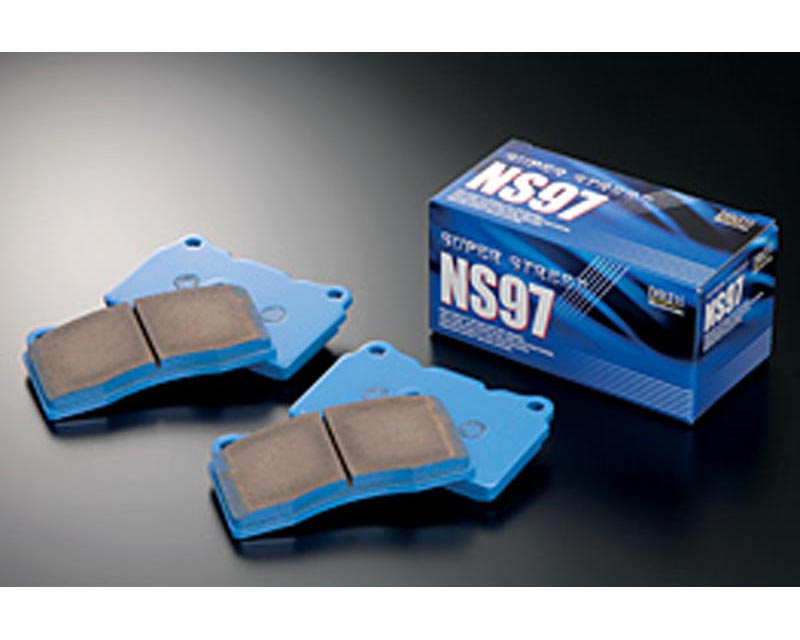 Endless NS97 Low-Steel Street Brake Pads Front Honda Civic EX Coupe without ABS 93-95 - EP 280 NS97 F