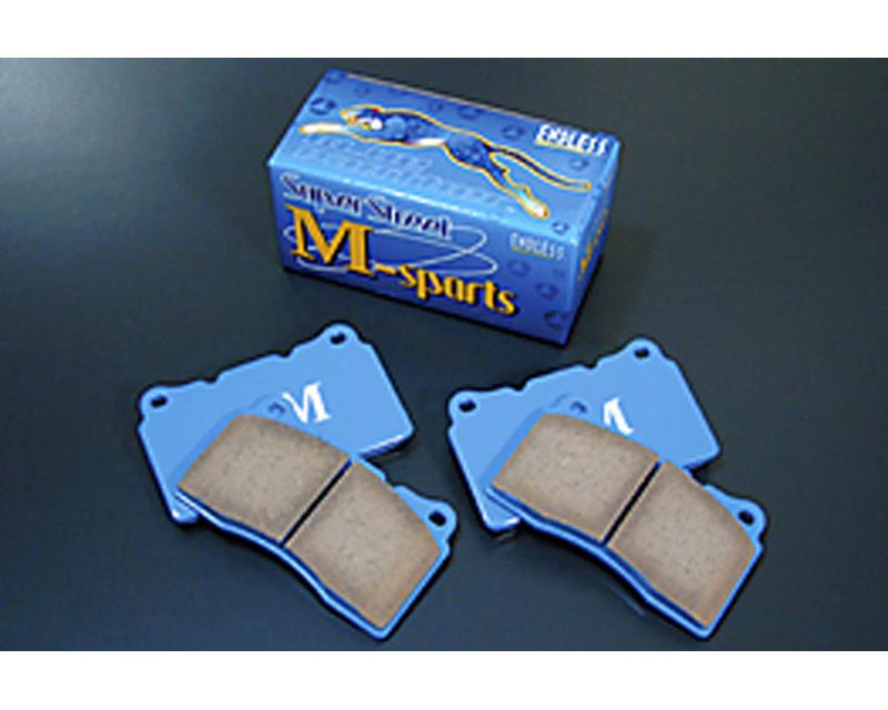 Endless SS-M Anti-Dust Brake Pads Front And Rear Subaru Impreza RS From 7/98 98-01 - EP 348 SSM FR