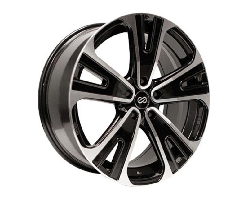 Enkei SVX Wheel Performance Series Black Machined 20x8.5 5x120 40mm - 475-285-1240BKM