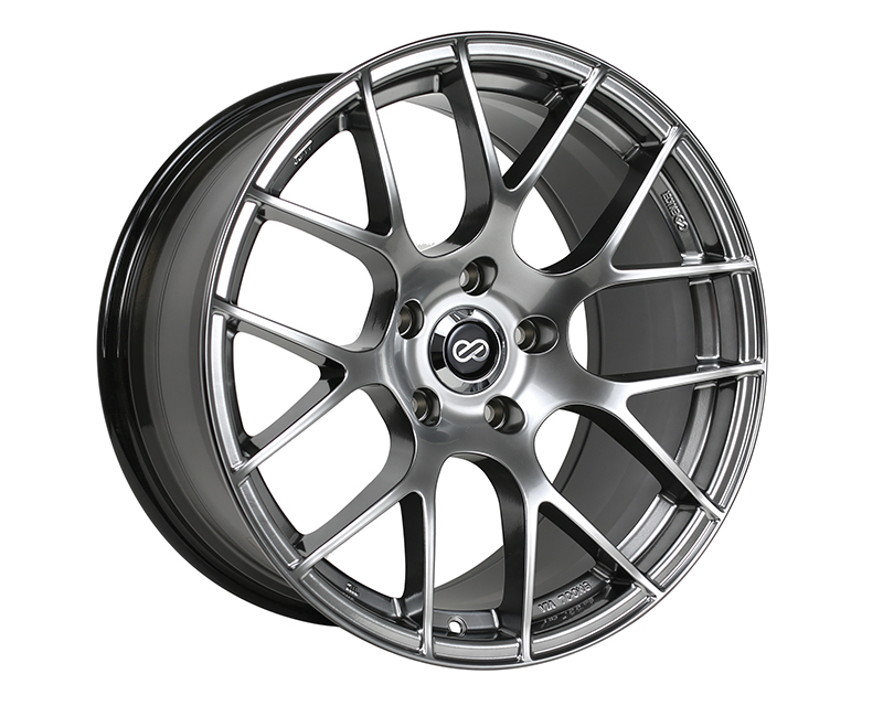 Enkei RAIJIN Wheel Tuning Series Hyper Silver 18x8 5x114.3 45mm - 467-880-6545HS
