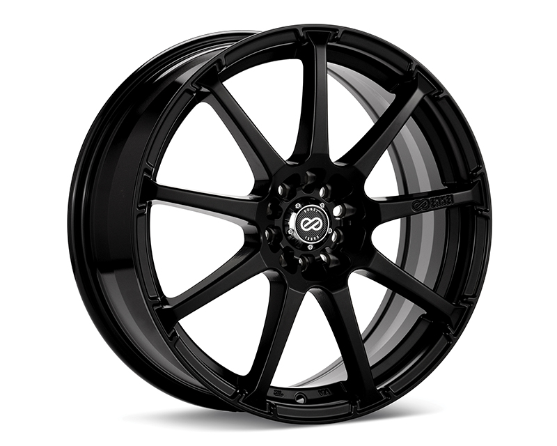 Enkei EDR9 Wheel Performance Series Black 16x7 5x100/114.3 38mm - 441-670-0238BK