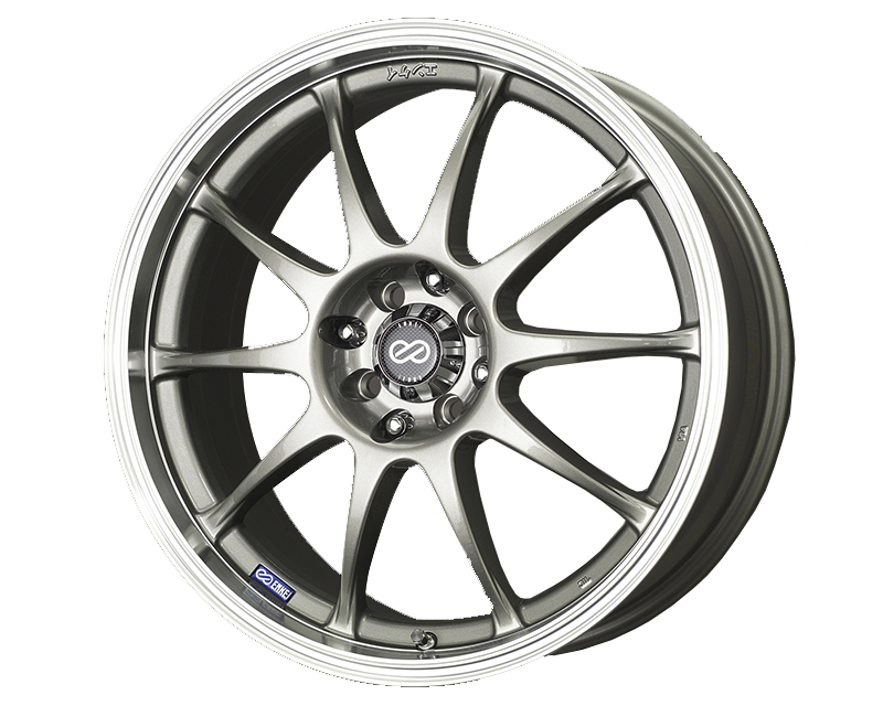 Enkei J10 Wheel Performance Series Silver 17x7 5x112/120 38mm - 409-770-16SP