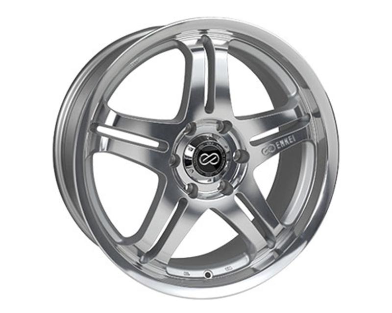 Enkei M5 Mirror Finish Wheel 17x7.5 5x114.3 +45mm
