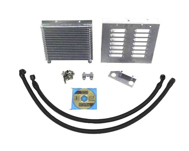Evolution Racewerks Silver Sports Series Oil Cooler Upgrade Kit BMW 335i 08-11 - BM-COOL002P